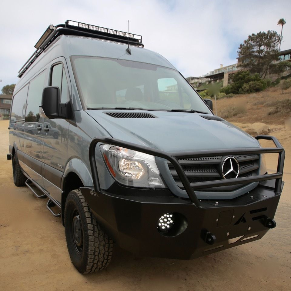 Mercedes Sprinter Winch Bumper
