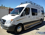 Sprinter 170 Aluminum Double Loop Roof Rack Style